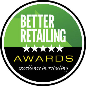 The Better Retailing Awards logo