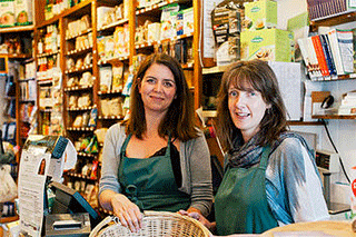 Dandelion's owners Kate Sawyer and Claire Bateman