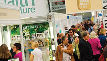 A photo of crowds at Natural Products Europe 2013